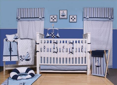 nautical baby crib set nautical baby bedding sailboat crib bedding baby blue