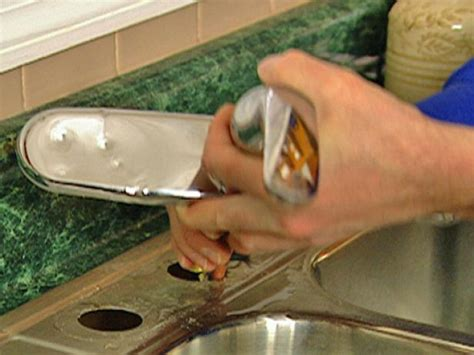 how to remove a kitchen sink faucet how to remove and replace a kitchen faucet how tos diy
