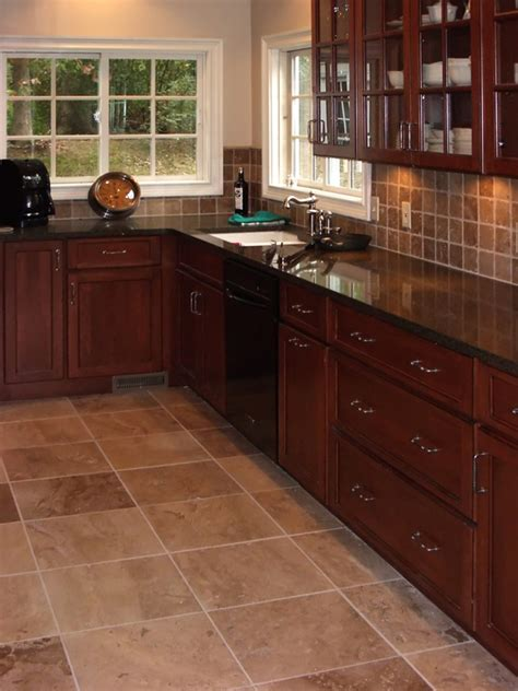 tile ideas for kitchens cherry kitchen cabinets kitchens with grey floors kitchen