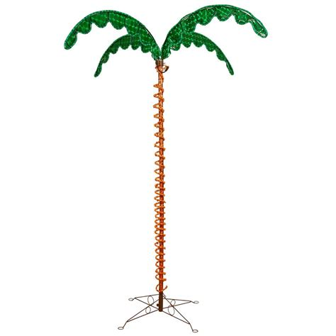 led rope light tree vickerman led rope light palm tree
