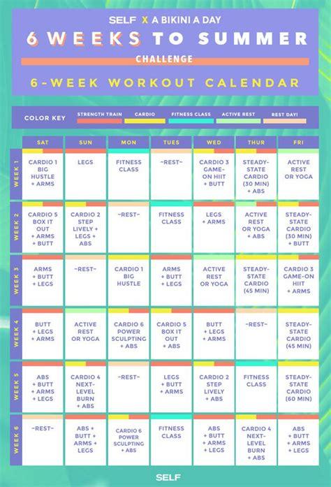 best 20 6 week workout plan ideas on pinterest