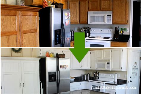diy painted kitchen cabinets 150 kitchen cabinet makeover find it make it it