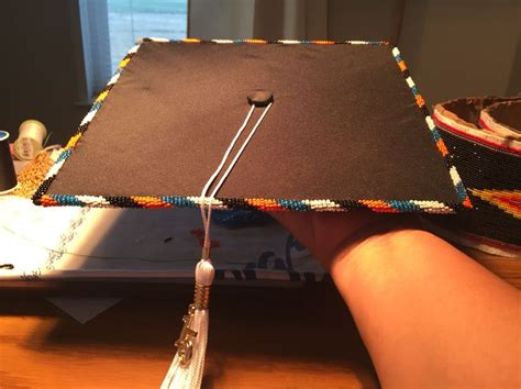 beaded graduation cap s beaded graduation cap beadwork by sissy