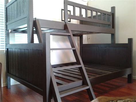 bunk style beds custom bunk bed pottery barn style by treasure valley