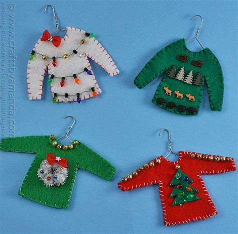 ornament craft for sweater ornament craft