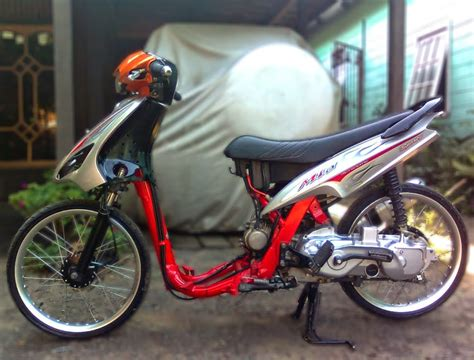 Gambar Semua Motor by Gambar Foto Modifikasi Motor Yamaha Mio Lengkap
