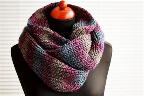 infinity knit scarf infinity scarf knitting patterns a knitting