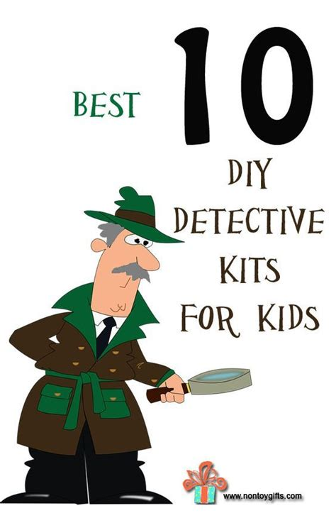 detective crafts for 1000 ideas about on kid