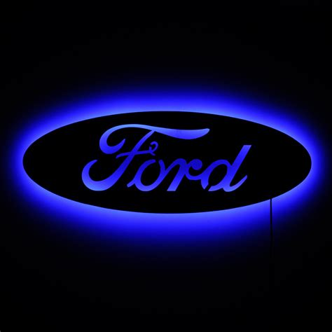 Ford Sign by Lighted Ford Logo Sign Ford Ford Logos