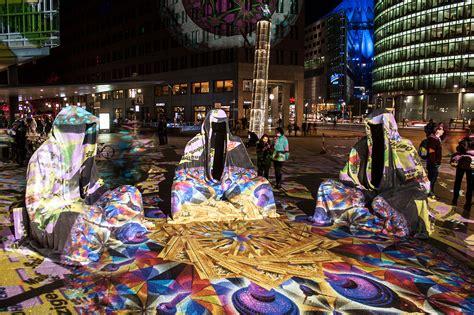 berlin painting festival festival of lights berlin potzdamer platz germany