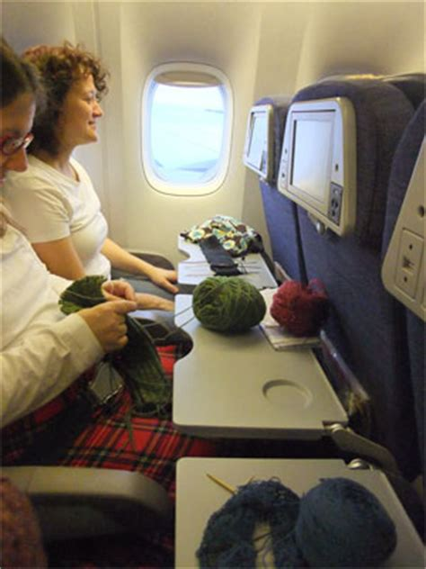 can you knit on a plane tuesday third wednesday knitting crocheting club