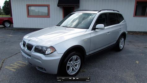 2006 Bmw X3 3 0i by 2006 Bmw X3 3 0i Start Up Exhaust And In Depth Review