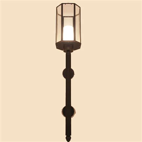 country lighting fixtures for home country antique copper and clear glass wall sconce 10018
