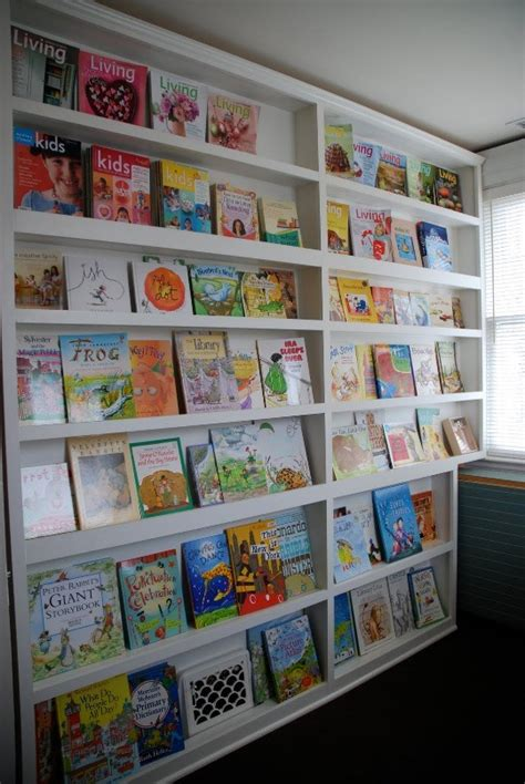 picture book display 21 cool idea to organize a mini library or book