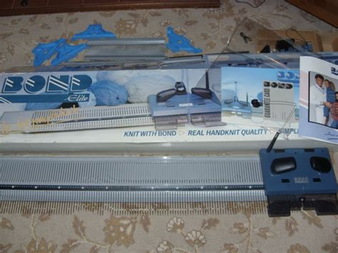 bond knitting machine bond knitting machine elite uses aran chunky knit