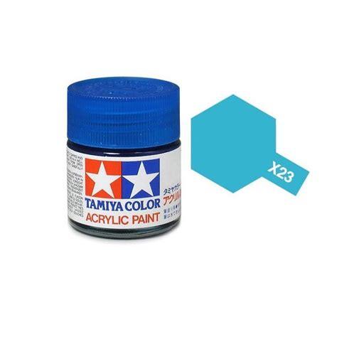 acrylic paint gloss tamiya 81023 x 23 clear blue acrylic paint gloss 23ml