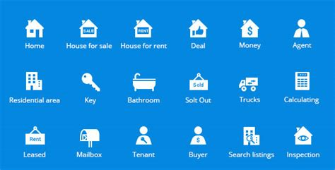 Garage Design Solutions introducing property amp real estate vector icons