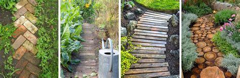cheap garden path ideas used ca cheap garden ideas green your green thumb