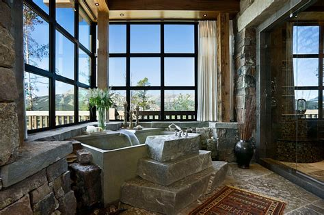 Rustic Spa Bathroom by 50 Enchanting Ideas For The Relaxed Rustic Bathroom