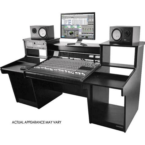 omnirax studio desk omnirax mixstation mixer stand for the tascam dm4800