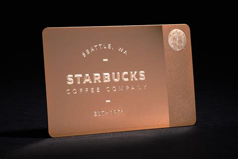 how to make a starbucks card starbucks offers new limited edition metal starbucks card