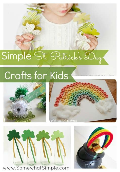 st patricks day crafts st s day crafts for