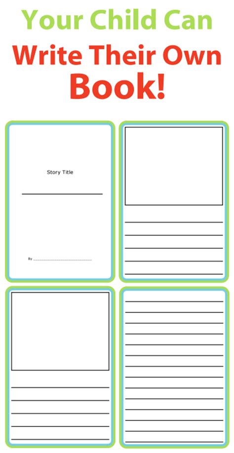 print your own picture book story templates to get writing the trip clip