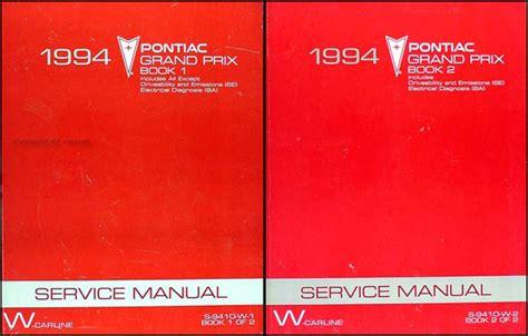 how to download repair manuals 1994 pontiac grand prix head up display 1994 pontiac grand prix repair shop manual original set
