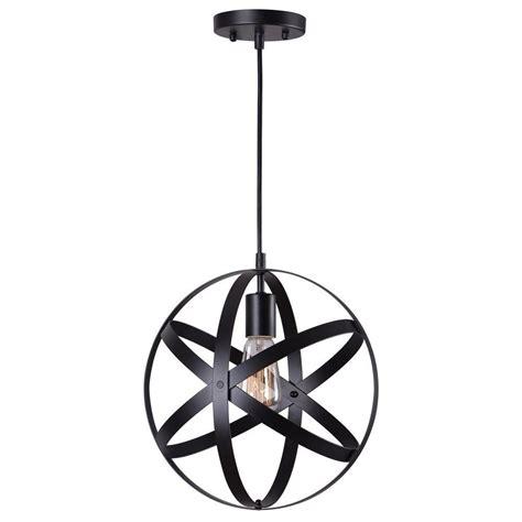 black light pendant home decorators collection 1 light black mini pendant