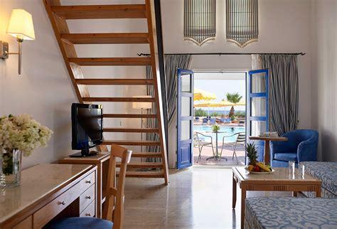 One Bedroom Duplex mitsis norida beach hotel designer travel