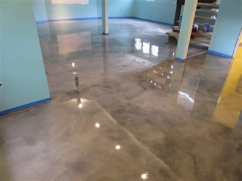 epoxy floors for basements epoxy basement floor transformation