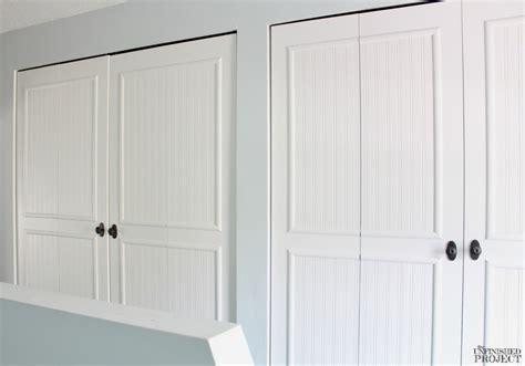wardrobe door beading beadboard closet doors 6408