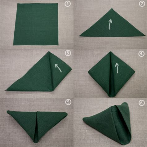 napkin folding origami napkin folding future mrs fix