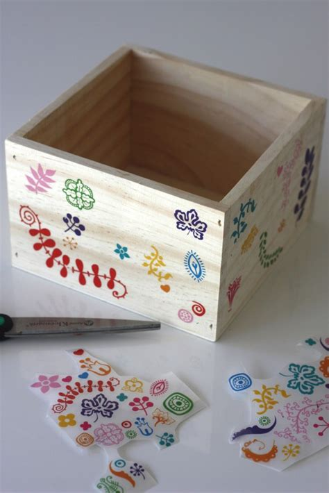 box of decorations diy decorative wooden box for easter catch my