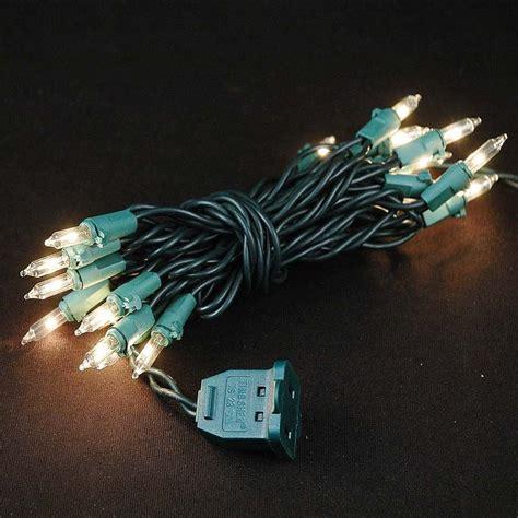 20 mini lights mini light string sets 20 light green wire clear