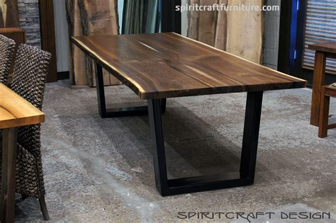 slab dining table live edge slab dining tables walnut slabs and tops