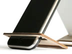 desk cell phone stand laser cut wood phone holder office desk accessories cell