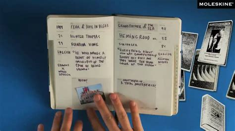 moleskine passions book journal youtube