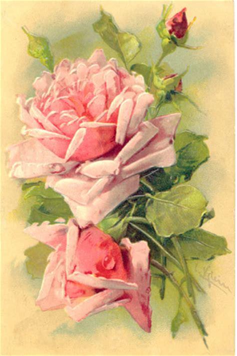 decoupage roses artbyjean vintage clip 2012 03 04