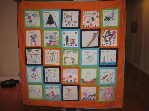 quilting craft projects you to see 1st grade class quilt by xstitchingirl
