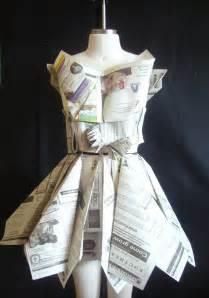 paper dress craft newspaper dress craft ideas newspaper