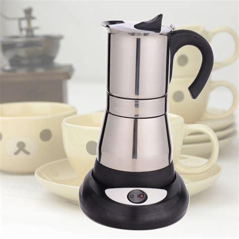2015 Hot Sale Electric Coffee Maker/ Coffee Pot 6 Cup   Buy Electric Moka Coffee Maker