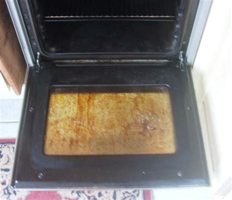 how to clean oven glass door the lazy way to clean oven glass the hedge combers