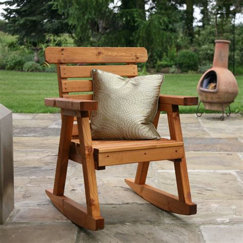 rocking chair garden customer reviews for tom chambers fsc wooden rocking