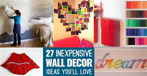 wall decoration ideas for cool cheap but cool diy wall ideas for your walls