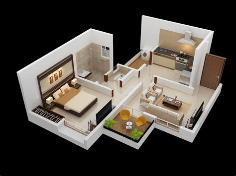one bedroom design 25 one bedroom house apartment plans