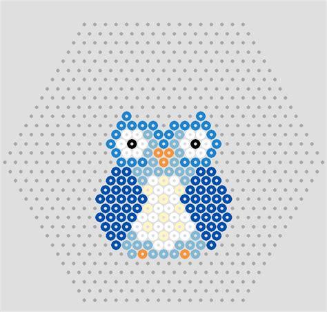 hama bead template printable owl designs in hama free hama bead owl patterns