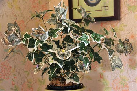 money tree origami dollar bill origami graduation cap instructionsdollar bill