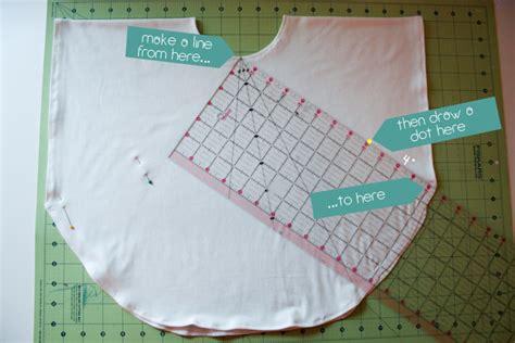 how do you knit a circle circle knit shirt tutorial honest to nod