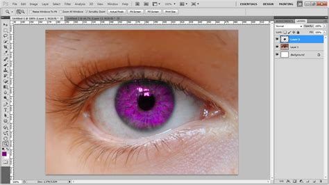 how to color in photoshop how to change an eye color in photoshop
